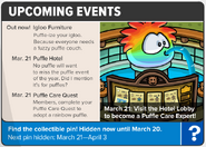 Upcoming Events PP2013 March 14