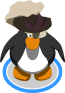 Leather Swashbuckler's Hat In-game