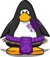 Grape Tiki Costume from a Player Card