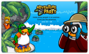 Adventure Party login screen 2