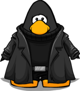Nick Fury Coat from a Player Card