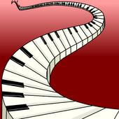 Piano Keys Background
