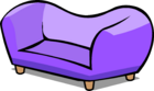 Purple Couch sprite 002