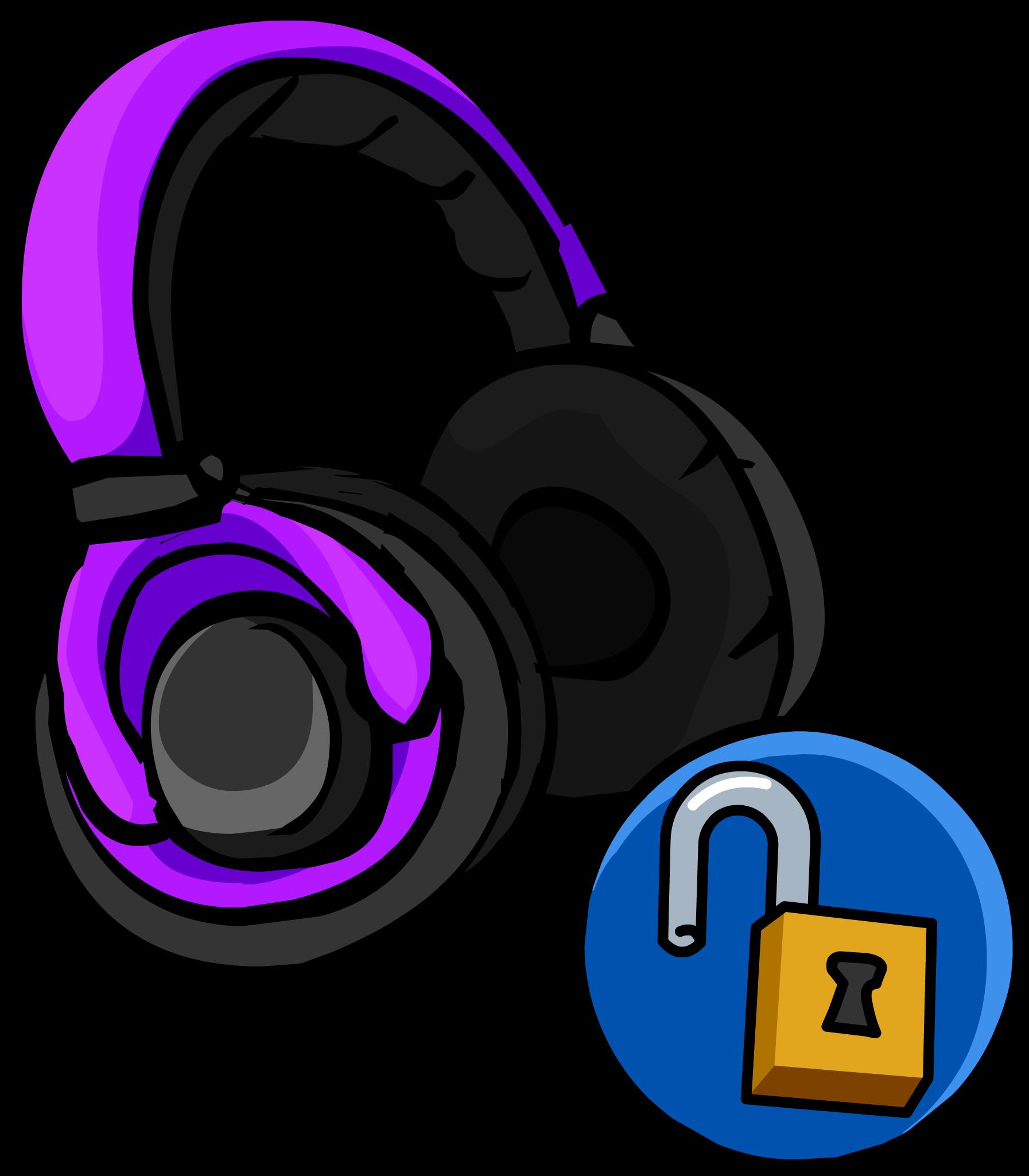 Purple Headphones Club Penguin Wiki Fandom Powered By