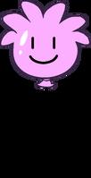 Pink Puffle Balloon icon