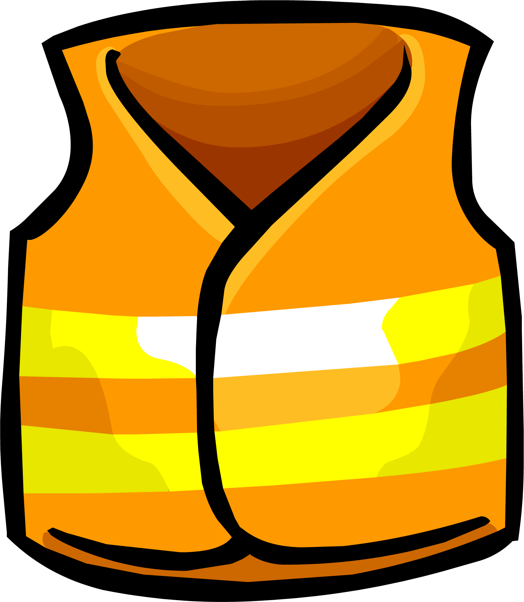 Image Safety Vest Clothing Icon Id 770 Png Club