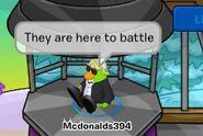James Baldwin playing in Mcdonalds Army vs Team MacGuy Wiki Game