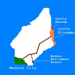 Madena map