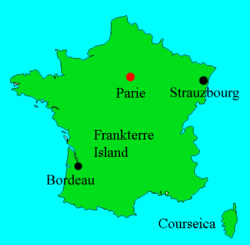 Map of Frankterre
