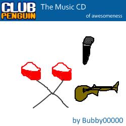 Club Penguin The Music CD