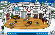 Greeny's igloo