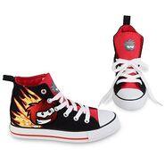 SpeedyBlackPuffleSneakers
