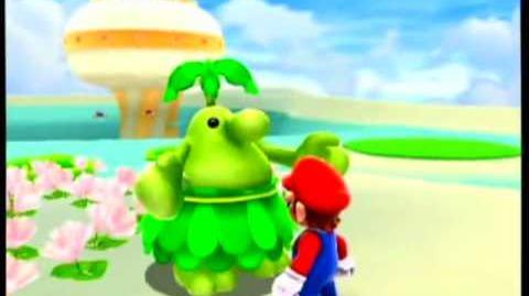 Super Mario Galaxy 2 - Climbing the Cloudy Tower