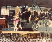 Judas Priest 1977 US concert