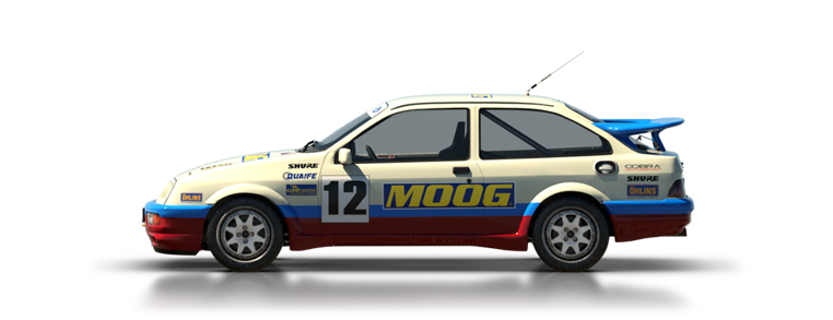 DiRT Rally Ford Sierra Cosworth RS500