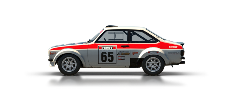 DiRT Rally Ford Escort Mk II
