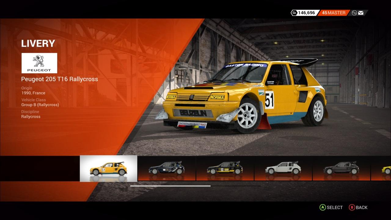 DiRT 4 Peugeot 205 T16 Rallycross