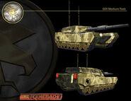CNCR Medium Tank render
