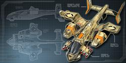 CNCTW Orca Gunship Diagram