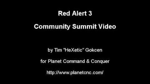Red Alert 3 Summit Video Pt3