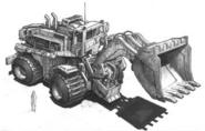 CNCGen Dozer Concept Art 1