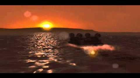 C&C Tiberian Dawn - Hovercrafts Landing
