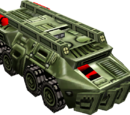 Assault troop transport