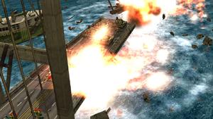 Gen China M02 Bridge Destruction