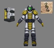 KW ZOCOM Grenadier Squad Upgrade Concept Art