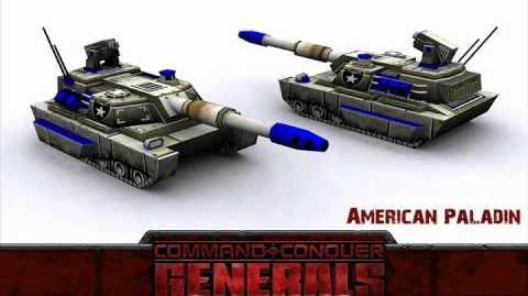 C&C Generals — Paladin Audio