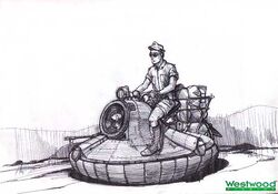 RA2 Hover Bike