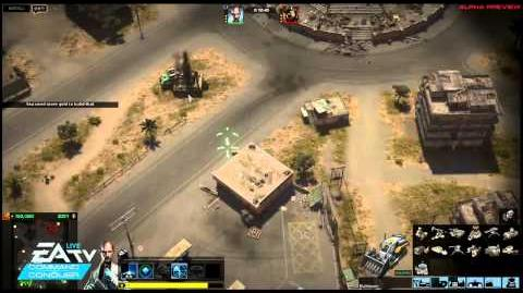 Command & Conquer alpha gameplay EU vs APA