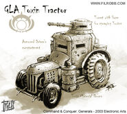 CNCG Toxin Tractor final concept