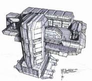 CNCTW Barracks Concept Art