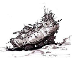 Tzar Landship concept art 1