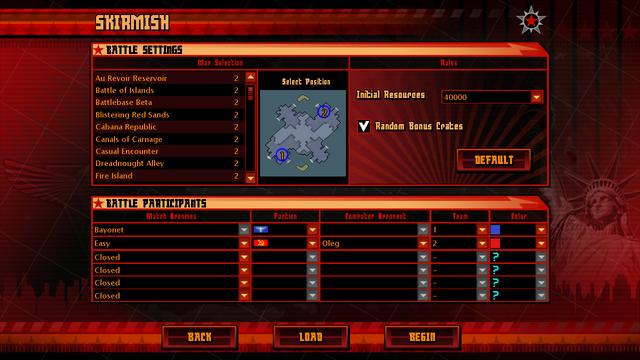 File:Red Alert 3 Skirmish Settings.png