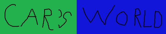 File:Car's World logo.png