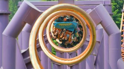 10 Inversion Roller Coaster POV Chimelong Paradise China 1080p HD
