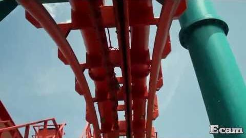Mind Eraser (Elitch Gardens) - OnRide - (720p)