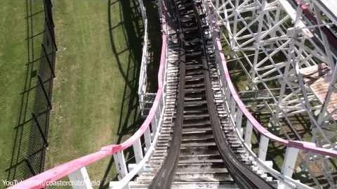 Judge Roy Scream (Six Flags Over Texas) - OnRide - (1080p)