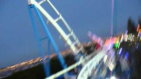 Corkscrew (Flamingo Land) - OnRide (480p)