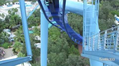 Manta (SeaWorld Orlando) - OnRide - (720p)
