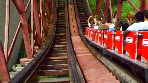 Racer (Kennywood) - OnRide - (720p)