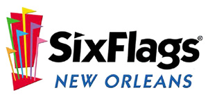 Six Flags New Orleans Logo