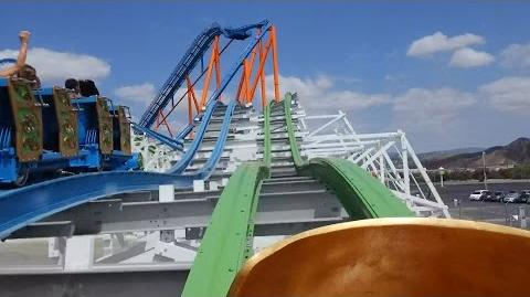 Twisted Colossus (Six Flags Magic Mountain) - OnRide (1080p)