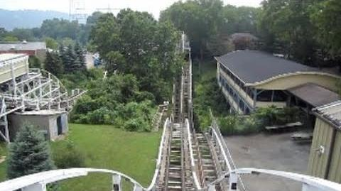 Jack Rabbit (Kennywood) - OnRide - (360p)