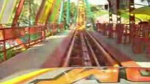 Boomerang (Siam Park City) - OnRide - (360p)