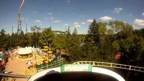 Spacely's Sprocket Rockets on-ride HD POV Six Flags Great America