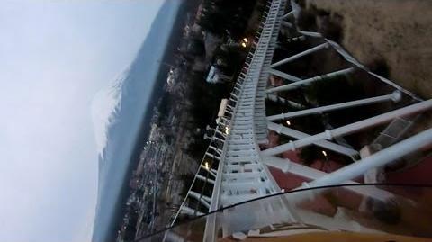 Dodonpa (Fuji-Q Highland) - OnRide - (720p)