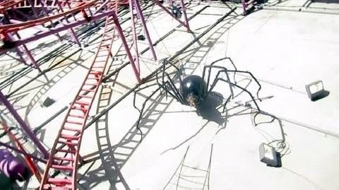 Spider front seat on-ride HD POV Lagoon